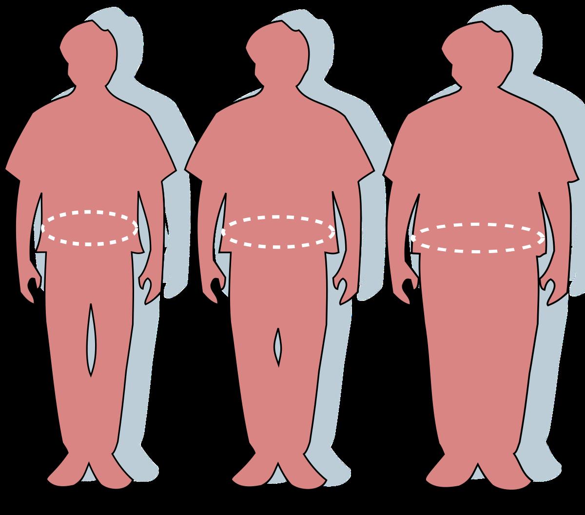 az emberi testsúlycsökkenés oka