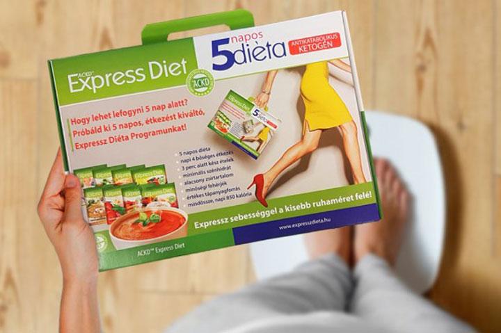 Expressz Diéta csomag – 5 napos, turbó ketogén étrend