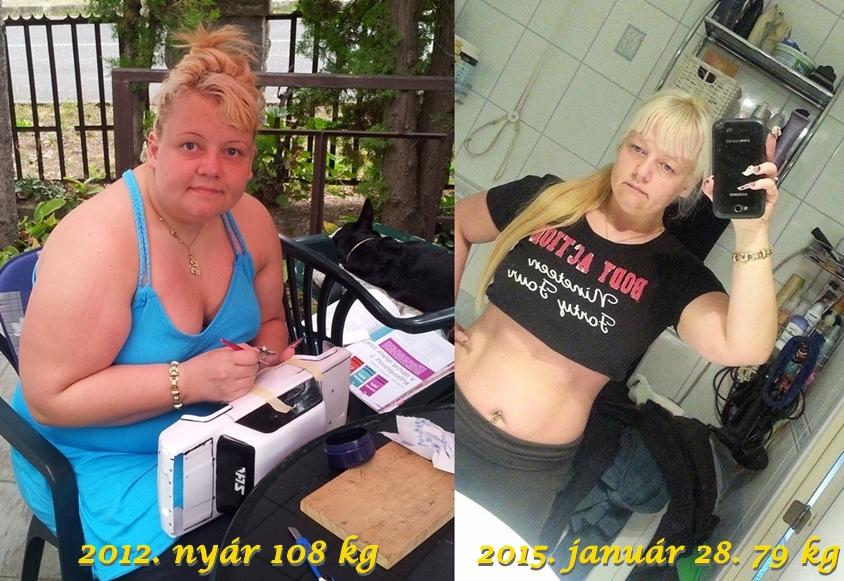 90– 80 kg súlycsökkenés fogyókúra program nőknek