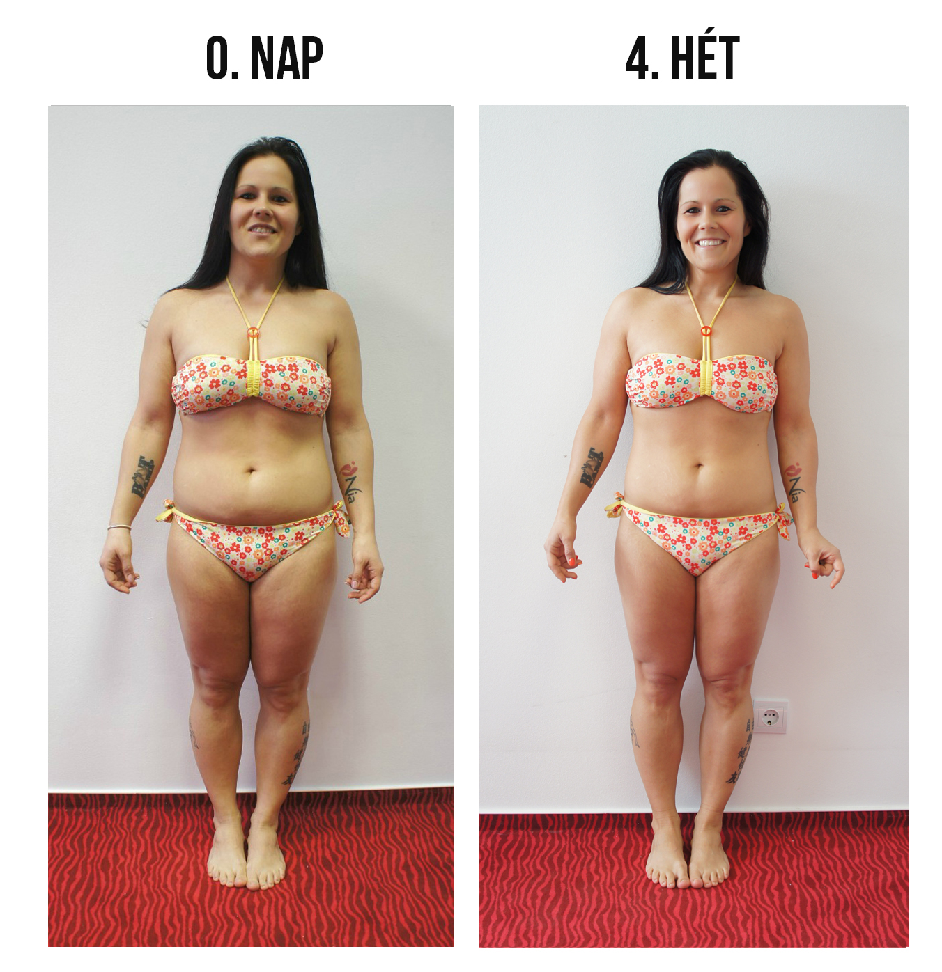 egy hónap alatt 10 kg fogyás