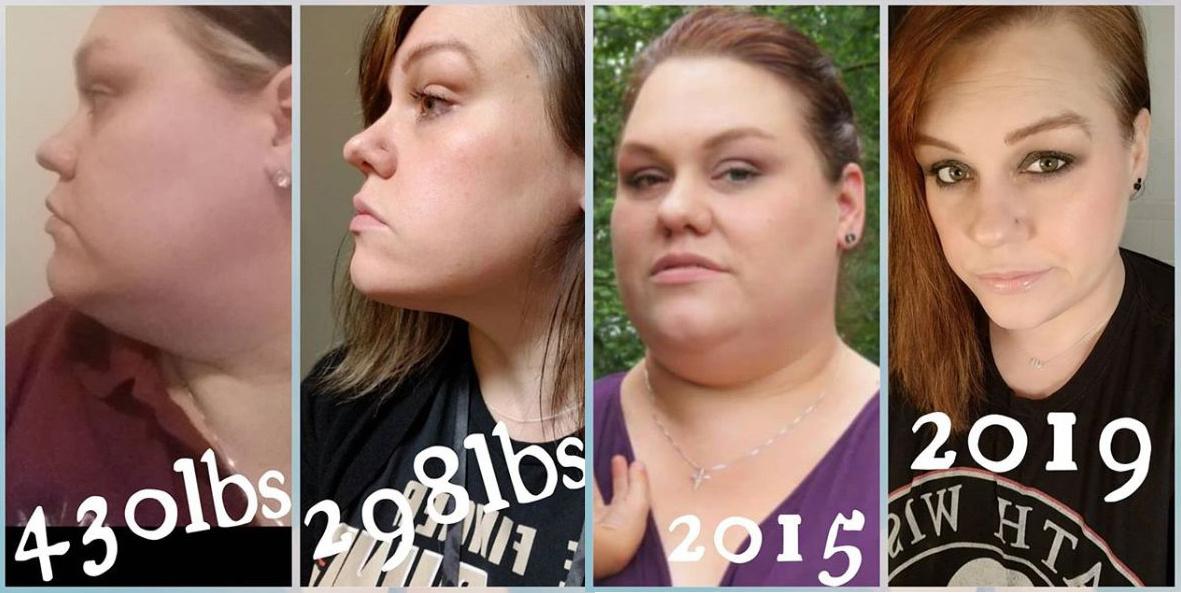 lefogy két hét alatt elhízott lány lefogy