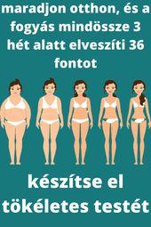 elveszíti a testzsírt vagy a súlyt