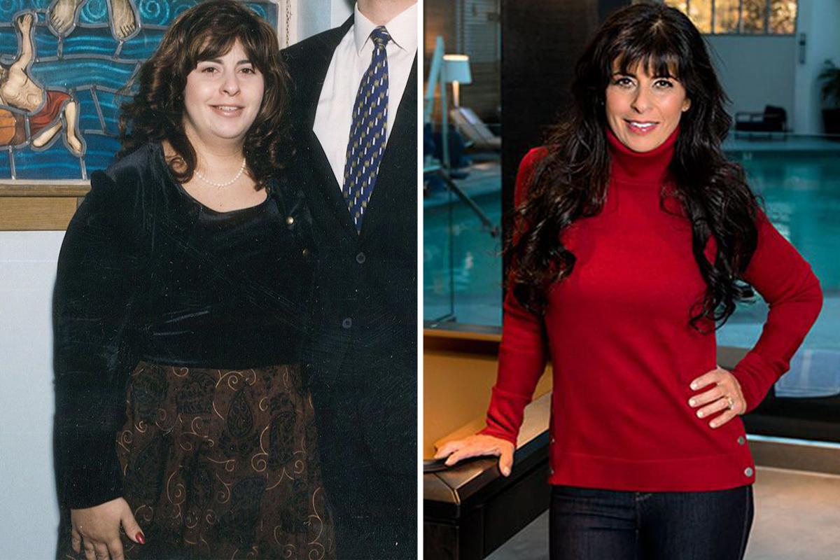 elvesztette 45 kg fogyás