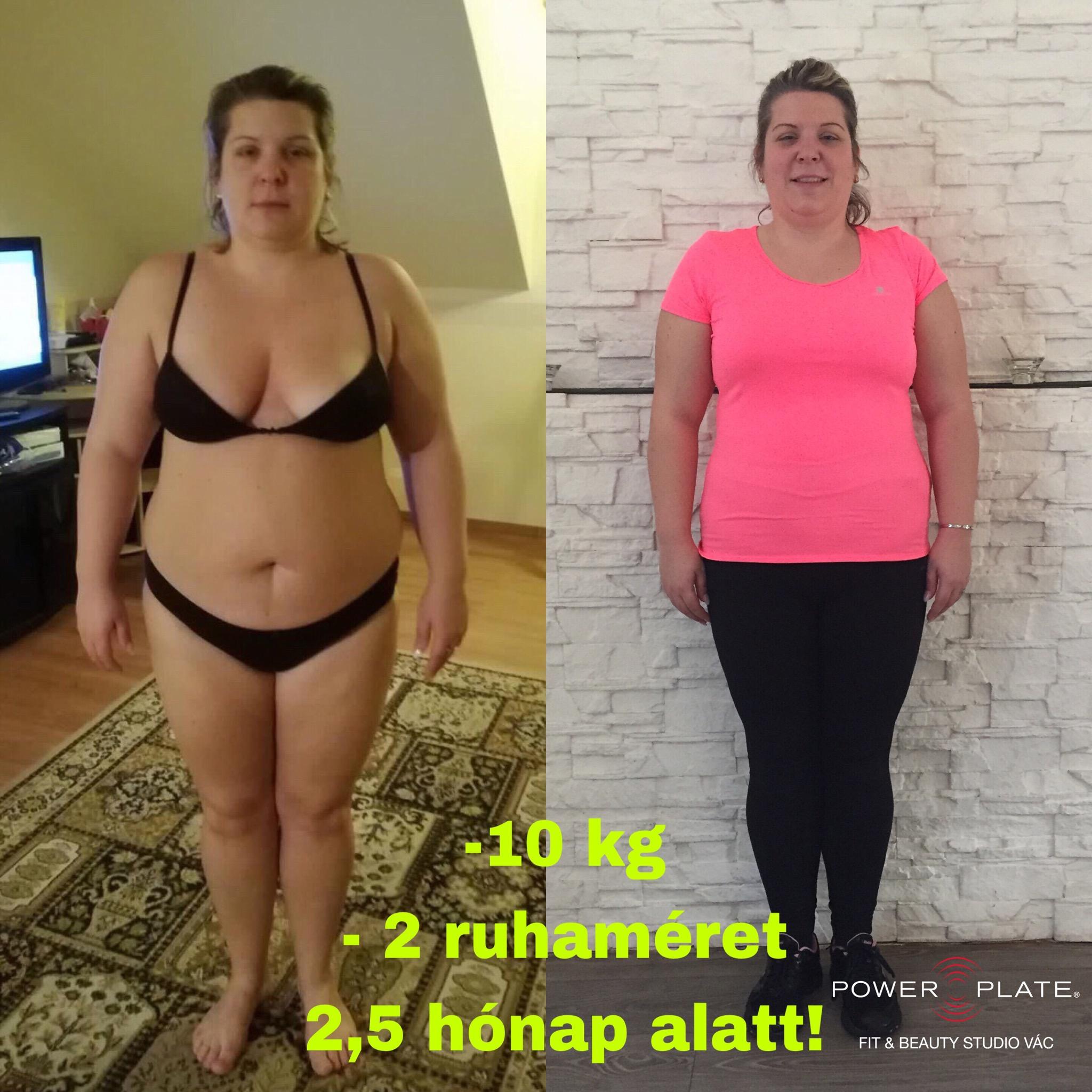 170 kg nő fogyás