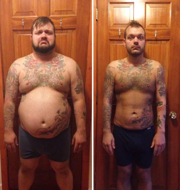 fogyás 60– 50 kg