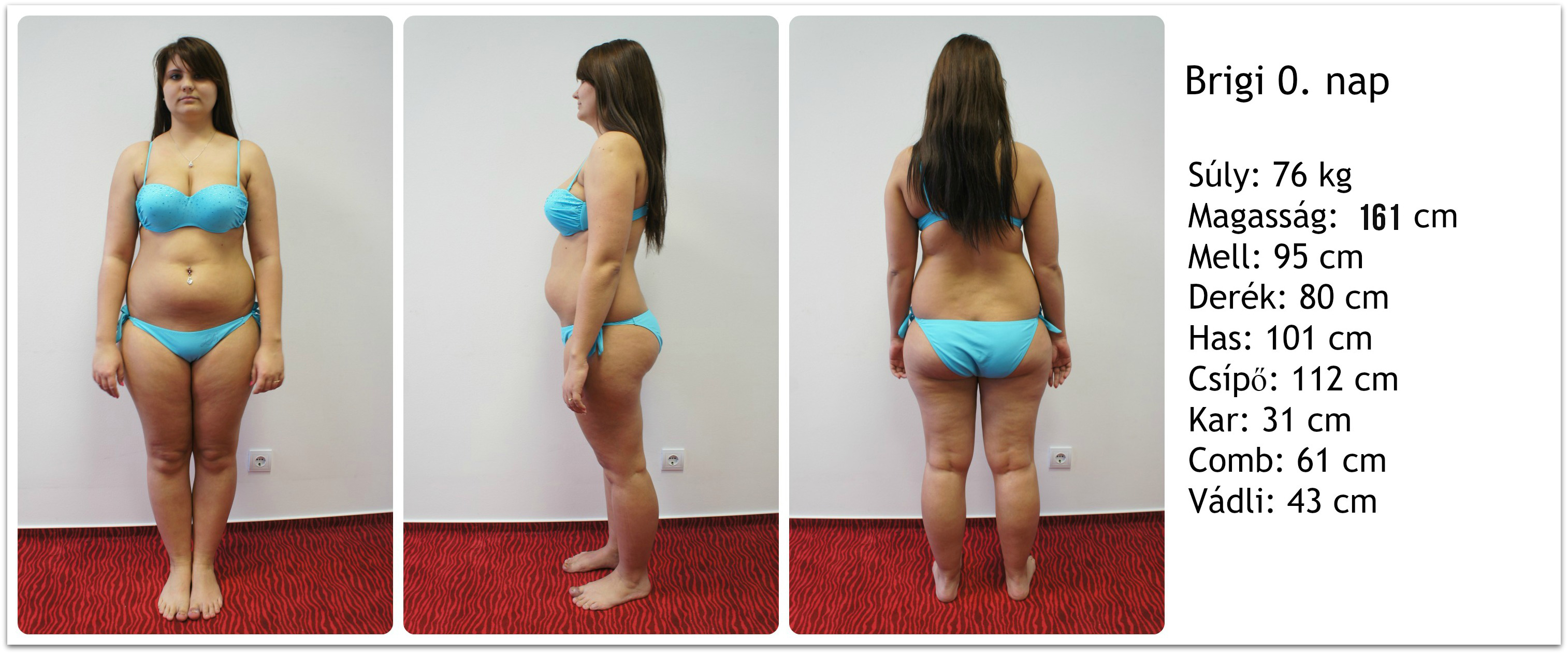 7 kg fogyás 6 hét alatt