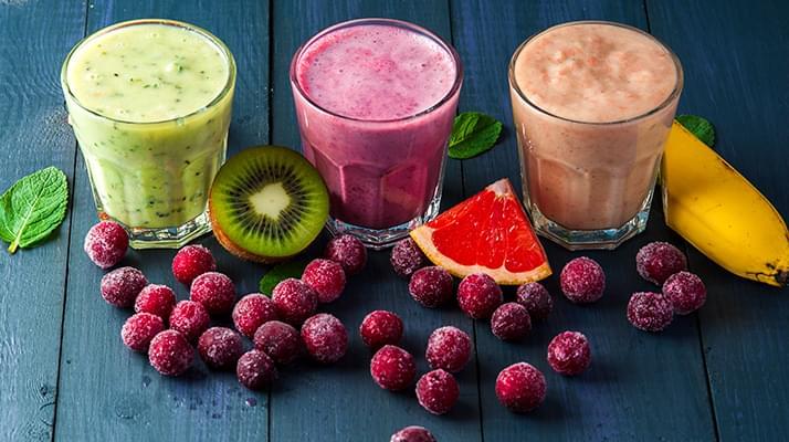 egészséges természetes fogyó italok