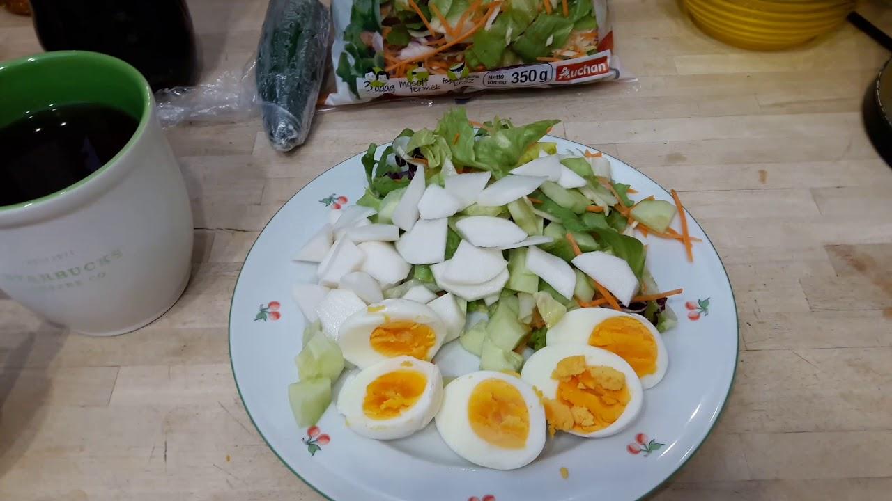 főtt tojásos diéta